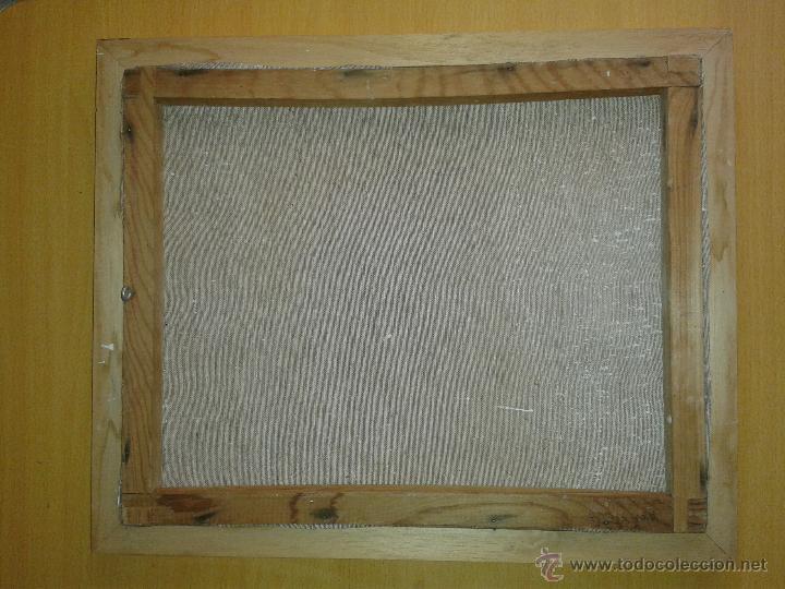 Arte: Cuadro de cristo pintura oleo firmado por Peñalver 40 x 50 cmtrs. - Foto 3 - 44110982