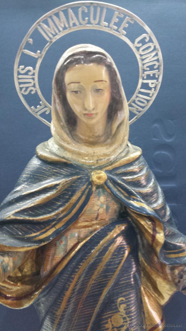 INMACULADA CONCEPCIÓN (Arte - Arte Religioso - Escultura)