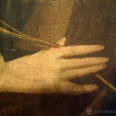 Arte: MAGNIFICO OLEO SOBRE LIENZO SANTA BARBARA S. XVIII. Lote 44465459