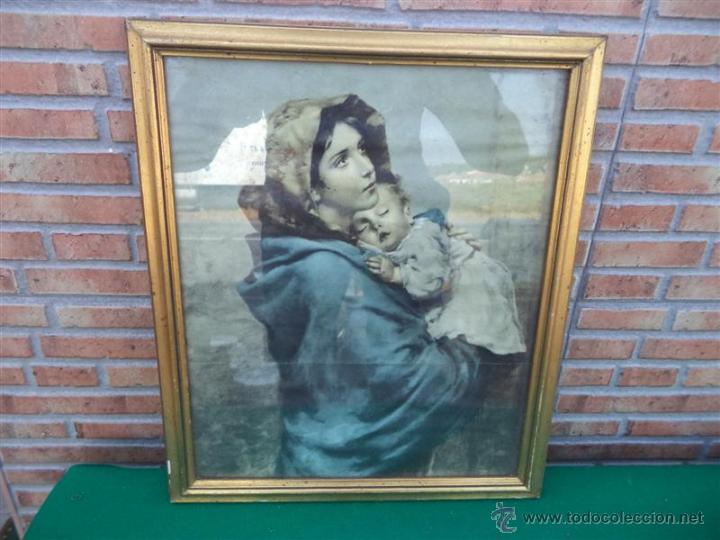 LAMINA ANTIGUA RELIGIOSA (Arte - Arte Religioso - Pintura Religiosa - Otros)