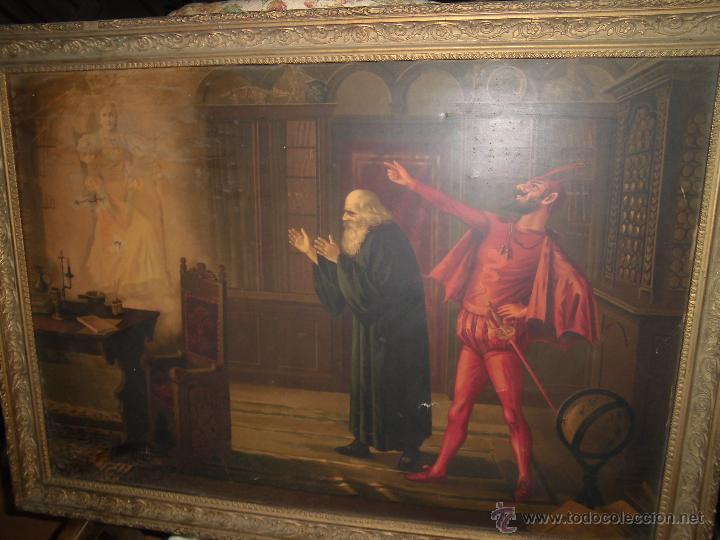 Extra o y antiguo cuadro mason marco dorado g comprar for Marco cuadro antiguo