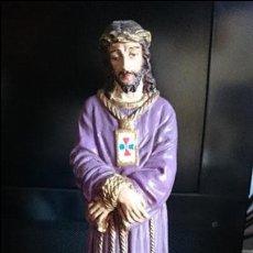 Arte: PRECIOSO CRISTO JESUS CAUTIVO AÑOS 50. Lote 45064619