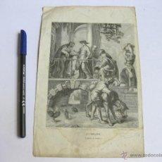 Arte: GRABADO DE LA VISITACION. P. P. RUBENS. CABASSON. PANNEMAKER. SCULP. Lote 45135010