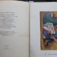 Arte: LITOGRAFIA PABLO PICASSO CAMPESINOS DURMIENDO Nº 188 DE 250, BANCO DE CREDITO AGRICOLA 1981. Lote 45143788