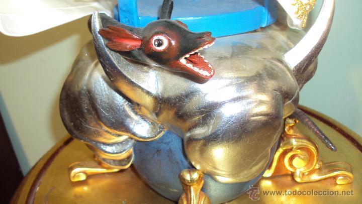 Arte: Escultura en Madera Virgen Inmaculada Cap i Pota XIX - Foto 6 - 45149361