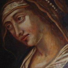 Arte: EXTRAORDINARIO ICONO DE LA VIRGEN.OLEO SOBRE TABLA. SIGLO XVIII. ESTE DE EUROPA.. Lote 45311059