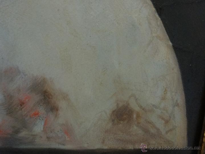 Arte: ÓLEO SOBRE PAPEL BOCETO DE TEMA RELIGIOSO CON ALEGORÍA DE LA VIRGEN - 1000-020 - Foto 6 - 43428503