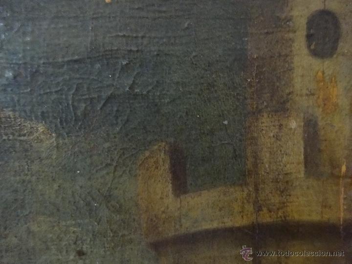 Arte: ÓLEO SOBRE LIENZO SANTA BARBARA SIGLO XVI-XVII - 1000-038 - Foto 4 - 43109684