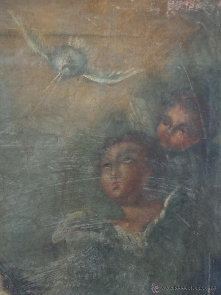 Arte: ÓLEO SOBRE LIENZO SAN JOSÉ CON NIÑO SIGLO XVIII - 1000-066 - Foto 12 - 43145250