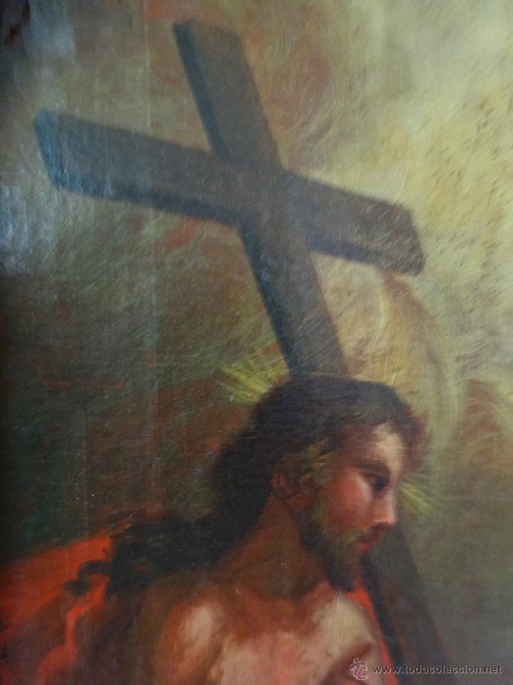 Arte: ÓLEO SOBRE LIENZO TRINIDAD ATRIBUIDO A J. ANTONIO ZAPATA Y NADAL 1762-1837 - 1000-071 - Foto 7 - 43145369