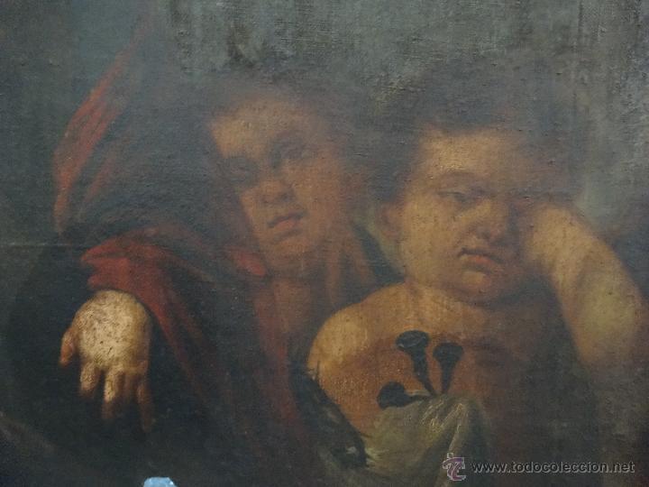 Arte: ÓLEO SOBRE LIENZO NIÑO DE PASIÓN SIGLO XVII - 1000-050 - Foto 6 - 43426843