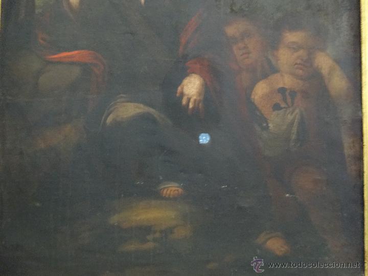 Arte: ÓLEO SOBRE LIENZO NIÑO DE PASIÓN SIGLO XVII - 1000-050 - Foto 8 - 43426843