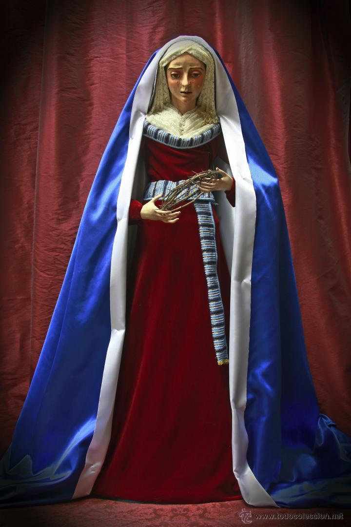 VIRGEN DOLOROSA DE 90 CTM SIN VESTIR (Arte - Arte Religioso - Escultura)