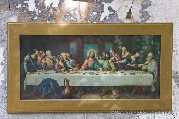 Antigua Litografia De La Ultima Cena De Leonard Buy Antique Religious Lithographs At Todocoleccion 45543393