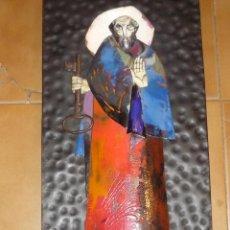Arte: SAN PEDRO DE ESMALTE, POR LOS HERMANOS HERNÁNDEZ DE VIGO. Lote 45564358