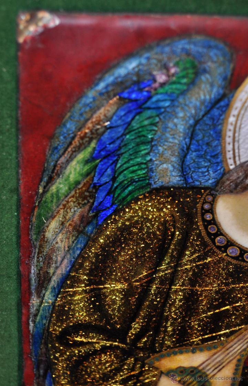 Arte: BONITO ESMALTE DE TEMA RELIGIOSO DE LOS AÑOS 40. FIRMADO EN LA BASE - Foto 2 - 45579338