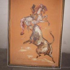 Arte - pintura sobre tabla antigua - 45905808