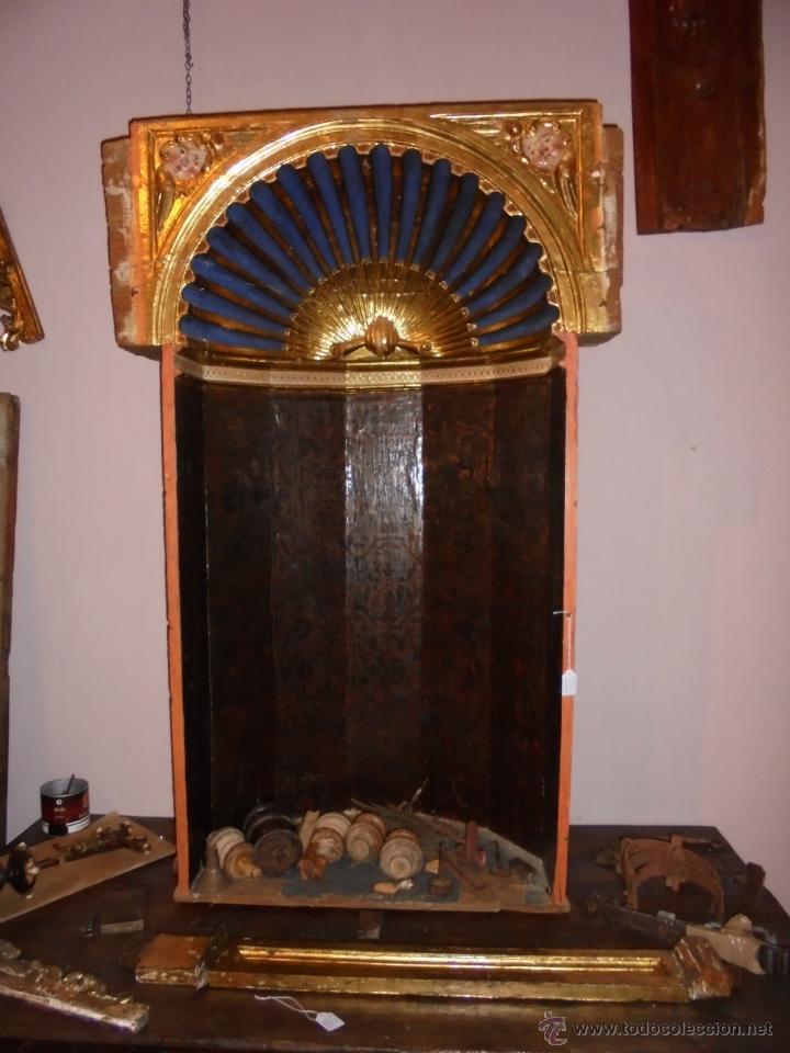 CAPILLA DE RETABLO SXVI. (Arte - Arte Religioso - Retablos)
