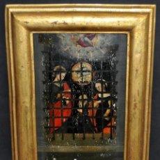 Arte: ESCUELA ESPAÑOLA DEL ULTIMO TERCIO DEL SIGLO XVI. OLEO SOBRE TABLA DE TEMA RELIGIOSO. Lote 46317295