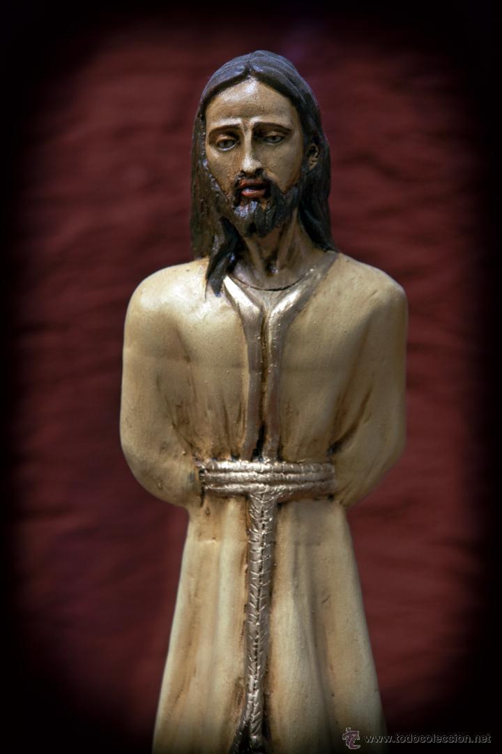 Arte: Cristo de 30 ctms realizado en terracota policromado. - Foto 2 - 43375598
