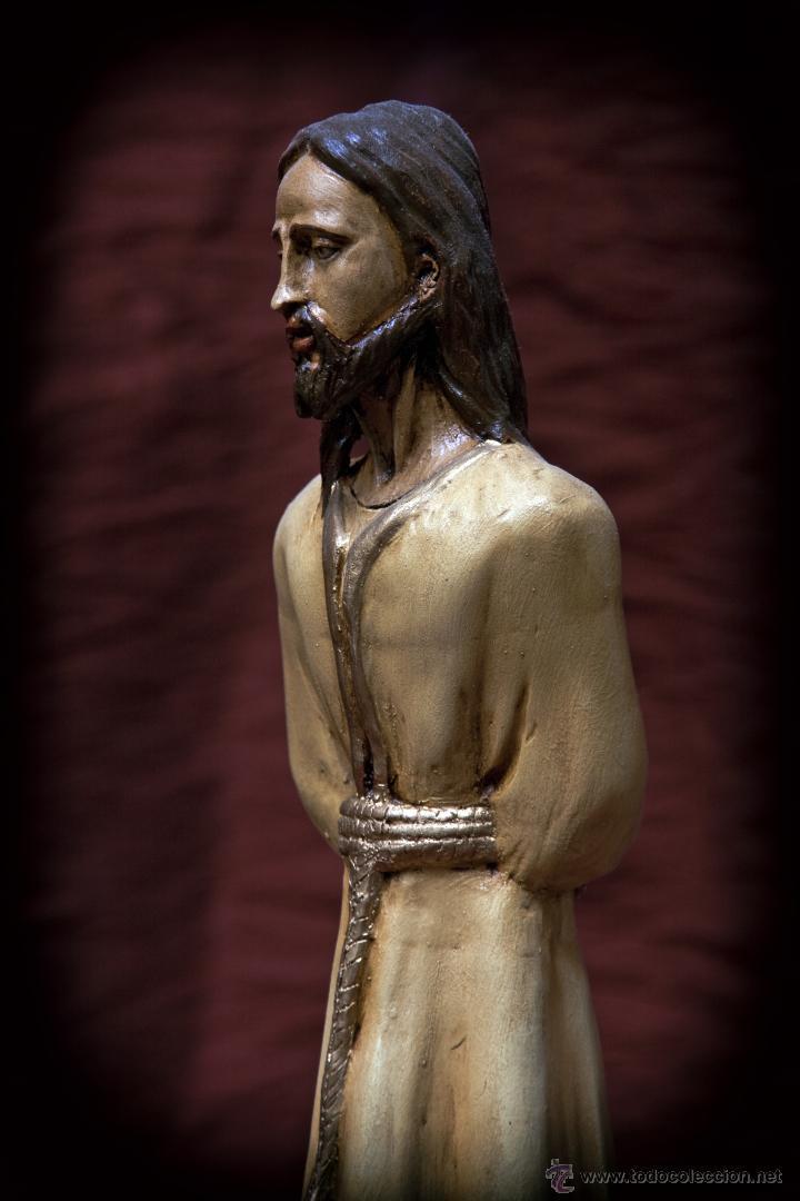 Arte: Cristo de 30 ctms realizado en terracota policromado. - Foto 4 - 43375598