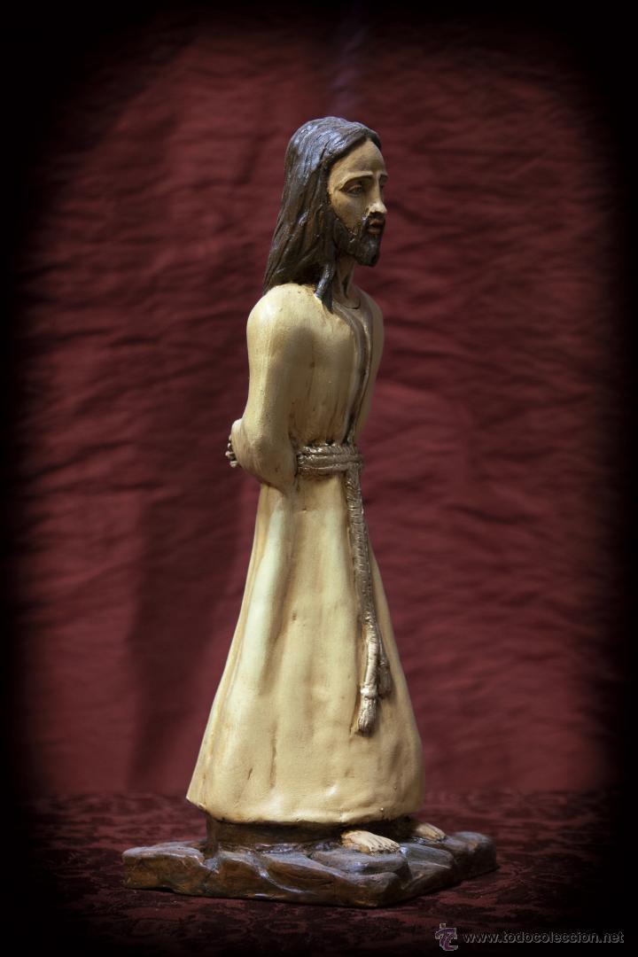Arte: Cristo de 30 ctms realizado en terracota policromado. - Foto 5 - 43375598