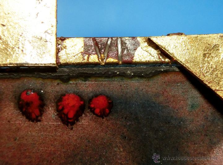 Arte: ANTIGUO ESMALTE CON MOTIVO BÍBLICO. REALIZADO AL FUEGO. FRANCÉS. PPIO S XX. TEMÁ RELIGIOSO. - Foto 19 - 46426995
