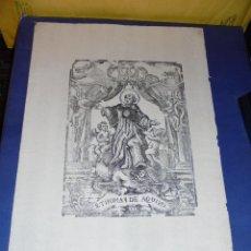 Arte: ANTIGUO GRABADO - S. XIX S. THOMAS DE AQUINO - 30,5X21 CM. . Lote 46432697