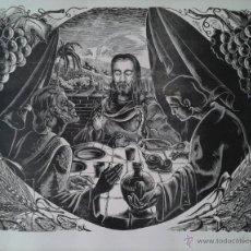 Arte: SALVADOR MASANA -- OBRA TEMA RELIGIOSO / FIRMADA Y NUMERADA 21/50. Lote 36531361