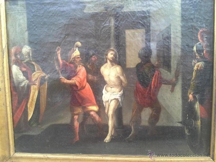 OLEO SOBRE LIENZO SIGLO XVII (Arte - Arte Religioso - Pintura Religiosa - Oleo)