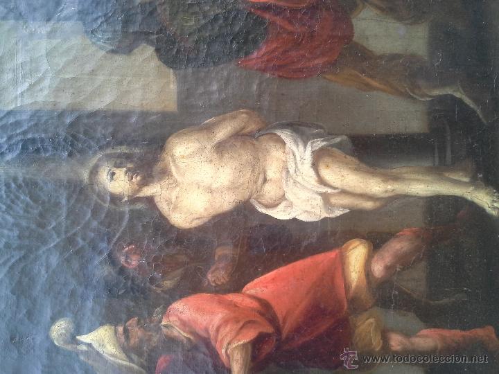 Arte: OLEO SOBRE LIENZO SIGLO XVII - Foto 4 - 46949492