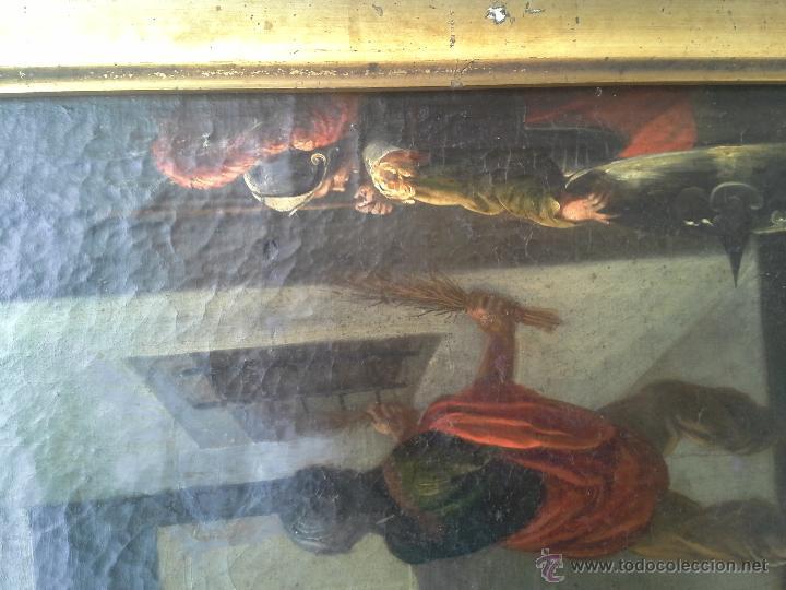 Arte: OLEO SOBRE LIENZO SIGLO XVII - Foto 5 - 46949492