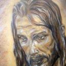 Arte: MARAVILLOSO RETRATO DEL CRISTO DE BENLLIURE JESUS NAZARENO DEL PASO MÁLAGA. Lote 47134908
