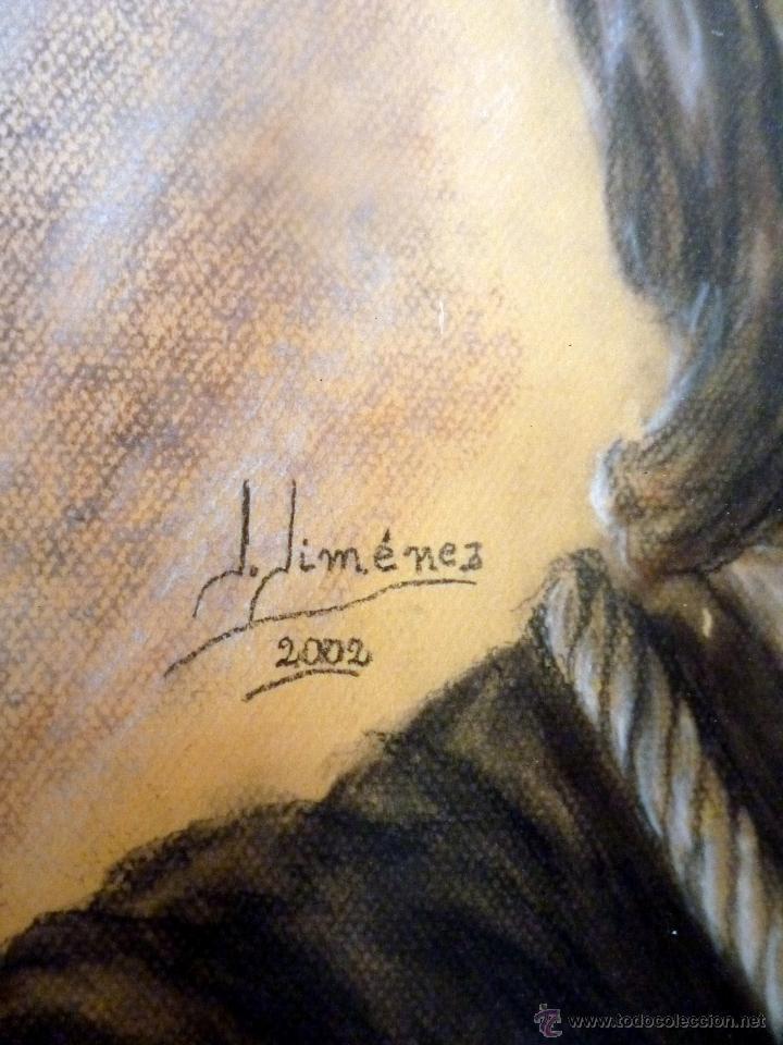 Arte: MARAVILLOSO RETRATO DEL CRISTO DE BENLLIURE JESUS NAZARENO DEL PASO MÁLAGA - Foto 4 - 47134908