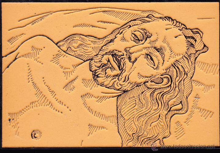 Arte: LOTE RELIGIOSO DE CUATRO GRABADOS SOBRE ESCULTURAS DE MARIANO BENLLIURE CREVILLENTE ALICANTE - Foto 2 - 47499963
