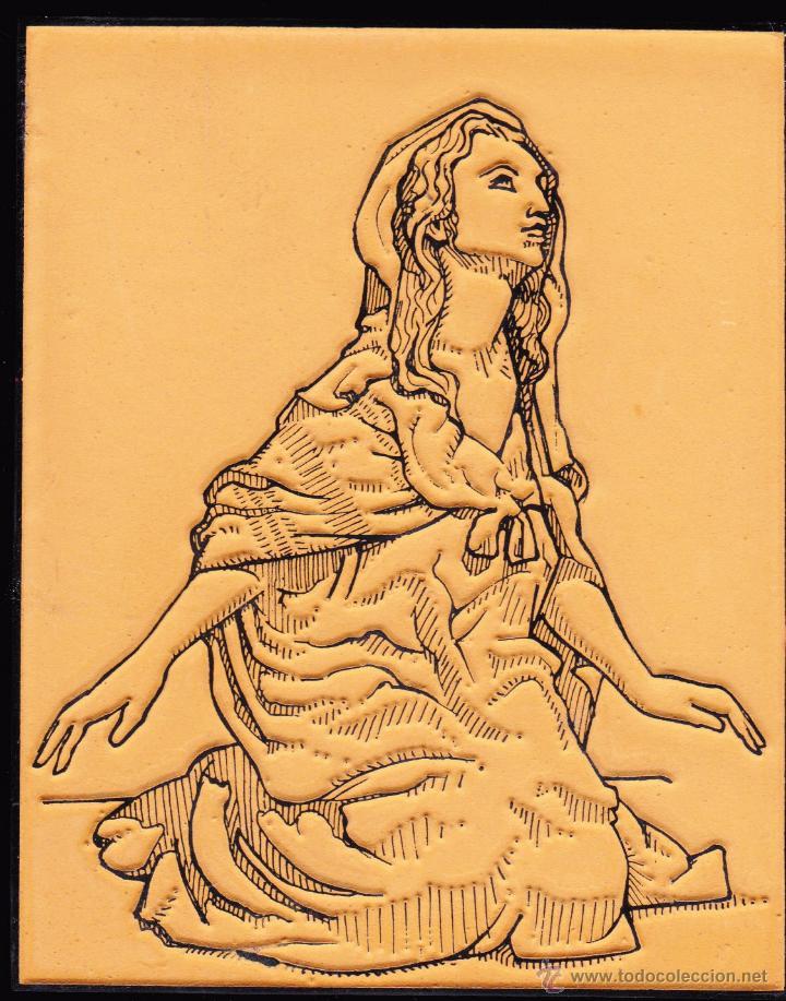 Arte: LOTE RELIGIOSO DE CUATRO GRABADOS SOBRE ESCULTURAS DE MARIANO BENLLIURE CREVILLENTE ALICANTE - Foto 3 - 47499963