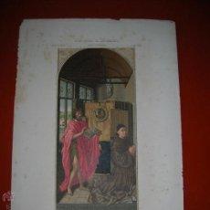 Arte: PINTURA EN TABLA ATRIBUIDA A JAN VAN EYCK.LIT.DONON.MADRID.M.FUSTER CROMOLITOGRAFIÓ.ARTE CRISTIANO.. Lote 47506017