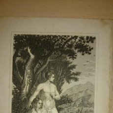 Arte: S. XIX - GRABADO - LA CREACIÓN - 15 X 10 CM.. Lote 47588823