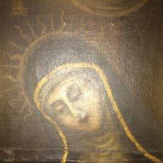 Arte: ANTIGUO ÓLEO RELIGIOSO, VIRGEN DOLOROSA SIGLO XVIII. Lote 47698567
