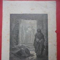 Arte: EL FARISEO Y EL REPÚBLICANO. DORÉ (40 X 28 CM DIBUJO 24,5 X 19,50 CM). Lote 48153386