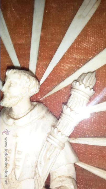 Arte: INUSUAL SAN ANTONIO EN MARFIL XVIII - Foto 2 - 48155841