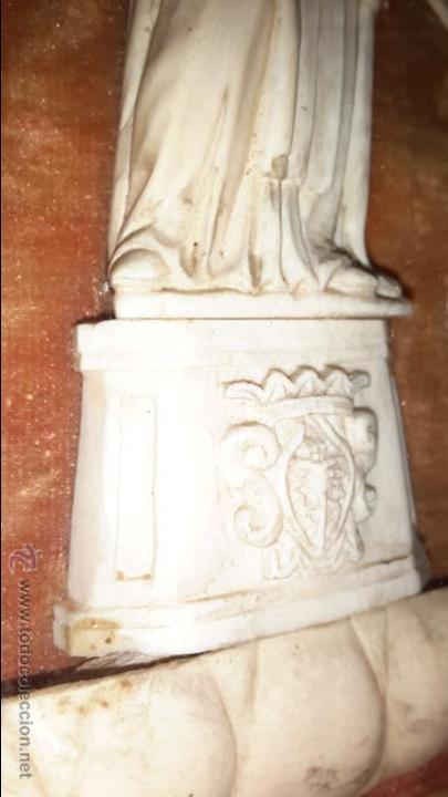 Arte: INUSUAL SAN ANTONIO EN MARFIL XVIII - Foto 3 - 48155841