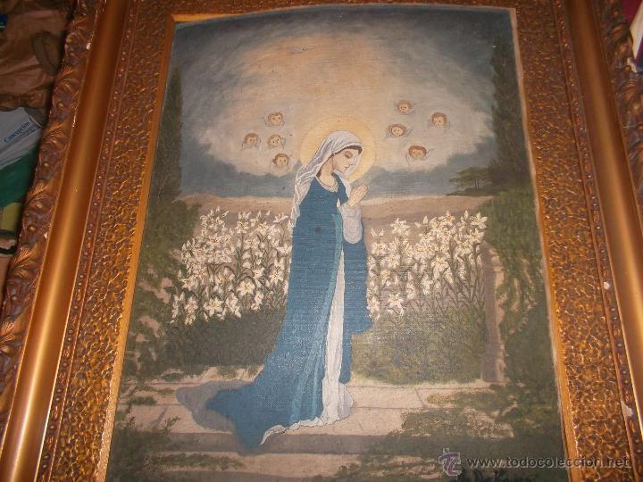 Arte: pareja de pinturas religiosas - Foto 6 - 39913026