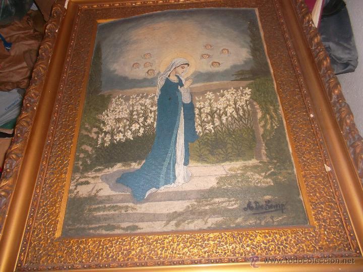 Arte: pareja de pinturas religiosas - Foto 7 - 39913026