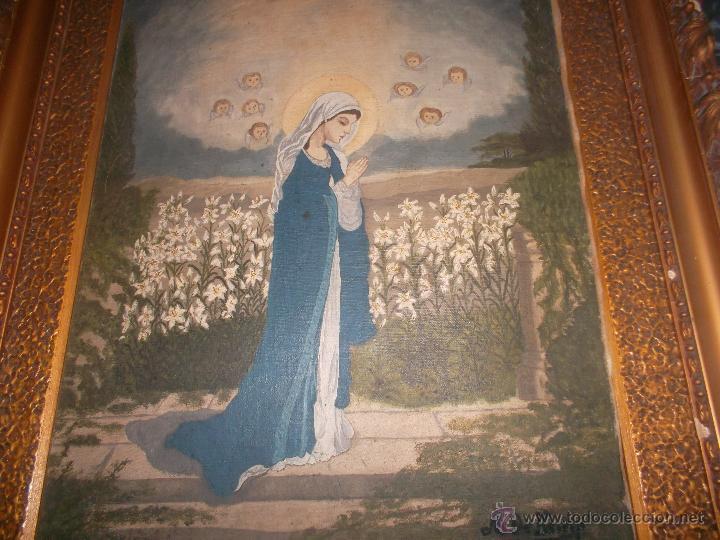 Arte: pareja de pinturas religiosas - Foto 8 - 39913026