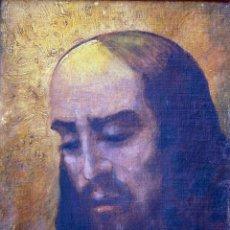 Arte: ROBERT BÜCHTGER (1862-1951, RUSIA ) - CABEZA DE CRISTO. Lote 28331840