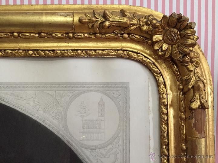 Arte: PAREJA DE GRABADOS D.MARTINEZ, DE CUADROS DE MURILLO ENMARCADAS. 1858. - Foto 3 - 48487874