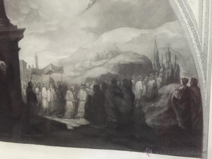Arte: PAREJA DE GRABADOS D.MARTINEZ, DE CUADROS DE MURILLO ENMARCADAS. 1858. - Foto 13 - 48487874