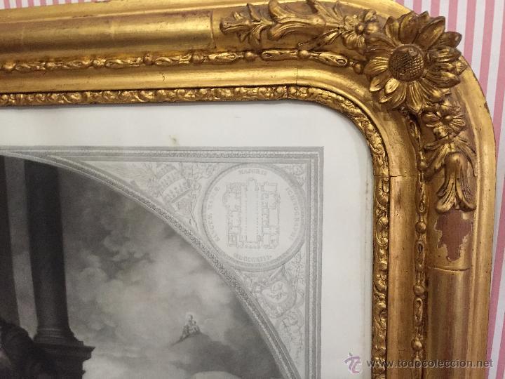 Arte: PAREJA DE GRABADOS D.MARTINEZ, DE CUADROS DE MURILLO ENMARCADAS. 1858. - Foto 17 - 48487874