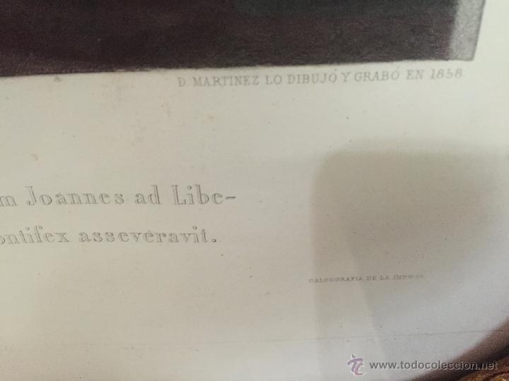 Arte: PAREJA DE GRABADOS D.MARTINEZ, DE CUADROS DE MURILLO ENMARCADAS. 1858. - Foto 20 - 48487874